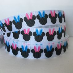 """Mouse St the listing is for 3 yards /& 2 resins Patricks 1/"""" grosgrain ribbon"""