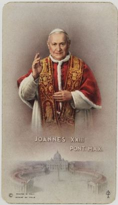 "Saint of the Day – 11 October – St Pope John XXIII (1881-1963) Priest, Bishop of Rome and of the Universal Church, Reformer, Writer, Teacher, known as ""Good Pope John.  Born Angelo Giuseppe Roncalli on 25 November 1881 at Sotto il Monte, diocese of Bergamo, Italy as Angelo Giuseppe Roncalli – 7:50pm on 3 June 1963 at Rome, Italy of stomach cancer.  Papal Ascension – elected 28 October 1958 and was installed on 4 ....."