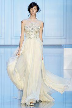 Elie Saab Fall 2011 Couture Fashion Show - Ruby Aldridge