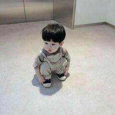 Cute Baby Boy, Cute Little Baby, Little Babies, Cute Kids, Baby Kids, Cute Asian Babies, Korean Babies, Asian Kids, Baby Swag