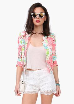 Lily Of The Valley Blazer
