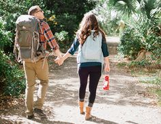 Camping Engagement Session from Merari Photography - Inspired By This I want to go camping now looks like a lot of fun! #MerariPhotography