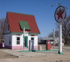 old gas stations | Old Texaco Gas Station (Weir, Kansas) | Flickr - Photo Sharing!