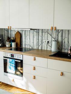 DIY keittiön vetimet, nahkavetimet, keittiön kahvat nahasta
