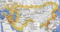 Mongol Empire in 1259 under Kublai Khan. Mystery of History Volume 2, Lesson 70 #MOHII70