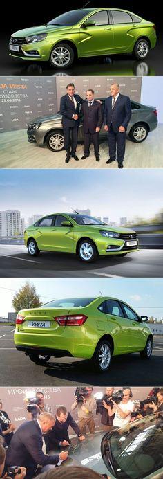 Бу Андерссон запустил Lada Vesta в серийное производство