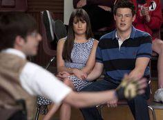 "glee rachel and finn | Artie, Rachel, and Finn in Glee Season 3, Episode 15: ""Big Brother ..."
