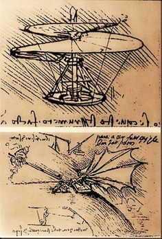 Da Vinci sketches