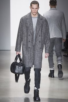 See the menswear Calvin Klein Collection autumn/winter 2015 collection