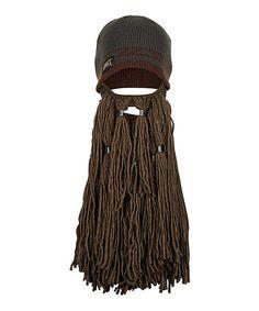 Look what I found on #zulily! The Hobbit Dwarf Beard Beanie by The Hobbit #zulilyfinds