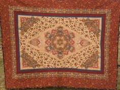 Applique Addict: Persian Rug Quilt