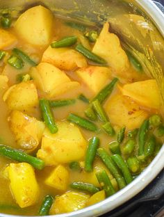 Vegan Instant Pot Potato Curry