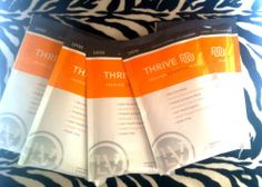 Thrive shake recipes: Buy your Thrive for these wonderful shakes @ www.thivinintejas.le-vel.com/industryshift