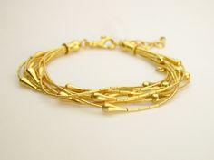 24kt gold bracelet by Gurhan
