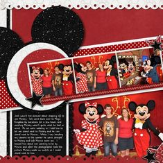 Meeting Mickey - MouseScrappers - Disney Scrapbooking Gallery
