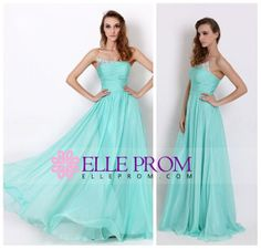 2014 Beaded Pleated Bodice A Line Prom Dress , $119.90