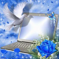 Frame Background, Paper Background, Frame Download, Betty Boop Pictures, Digital Photo Frame, Borders And Frames, Blue Roses, Flower Frame, Illustrations