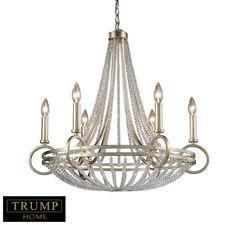 Elk New York Trump Home 6-Lt Chandelier in Ceiling Lights, Chandeliers, Indoor Chandeliers: ProgressiveLighting.com