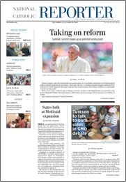 Seeking an elusive 'third place' in the Eucharist Chase Nordengren | Sep. 26, 2013