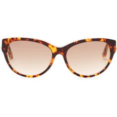Diesel Women's Cat Eye Acetate Frame Sunglasses ($35) ❤ liked on Polyvore featuring accessories, eyewear, sunglasses, tortoise cat eye sunglasses, tortoise sunglasses, logo sunglasses, tortoise shell cat eye sunglasses and cateye sunglasses