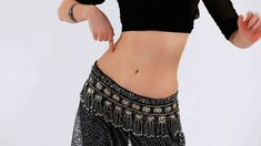 How to Do a Reverse Vertical Figure 8 | Belly Dancing