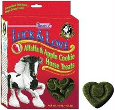 BND 117807 F.M. BROWNS EQUINE - Luck & Love Treat 53304 by BUYNOWDIRECT. $13.58