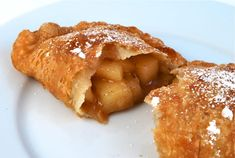 """""""McDonalds Apple Pie Recipe: Flavorful apples inside a flaky crust, no frying required. Tastes just like Mcdonalds Apple Pie recipe. Skip the drive through and try my McDonalds Apple Pie Recipe today. Fried Apple Pies, Fried Pies, Just Desserts, Delicious Desserts, Yummy Food, Apple Desserts, Pie Dessert, Dessert Recipes, Shot Recipes"""