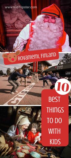10 Best things to do with kids in Rovaniemi, Finland Christmas Travel, Holiday Travel, Christmas Holiday, Travel With Kids, Family Travel, Things To Do, How To Memorize Things, Finland Travel, Vacation Trips