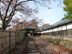 """""""Aizu Bukeyashiki""""(Museum), Aizu-Wakamatsu Fukushima Japan, Novembre"""