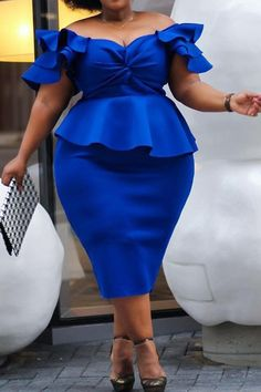 Plus Size African Fashion Patchwork Short Sleeve Womens Bodycon Dress - Look Fashion Curvy Fashion, Look Fashion, Plus Size Fashion, Cheap Fashion, Fashion Outfits, Fashion Scarves, Chic Outfits, Girl Outfits, Womens Fashion