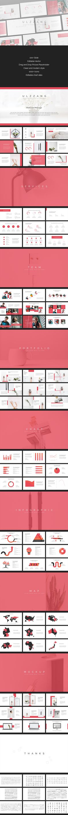 Buy Ulzzang - Creative PowerPoint Template by DeeShan on GraphicRiver. Main Features Unique Slides HD Resolution Vector Icons Drag and Drop Placeholder Using Free Fonts An. Marketing Presentation, Corporate Presentation, Presentation Design, Presentation Templates, Presentation Slides, Creative Powerpoint Templates, Graphic Design Trends, Ios, Keynote Template