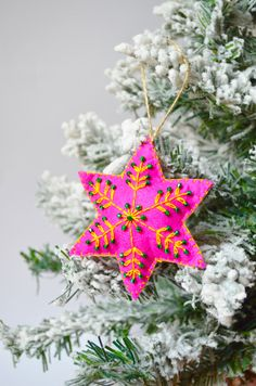 A personal favorite from my Etsy shop https://www.etsy.com/listing/485271397/christmas-snowflake-christmas-snowflake