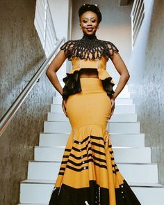 Bontle Modiselle Xhosa attire  Traditional attire