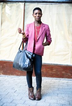 african Street fashion | cinder | South African street style, fashion: Friday 14 ...
