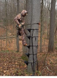 17 Best Stealth Step Images Ladder Tree Stand Hunting