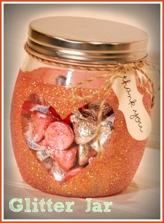 I had so much fun making this Glitter Jar! What can I say, glitter just makes me happy!! I made one and when my kids saw it they all wanted to make one for their teachers at school. So we made 3 mo...