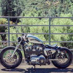Hd Sportster, Custom Sportster, Custom Harleys, Bobber Motorcycle, Moto Car, Moto Bike, Harley Davidson Iron 883, Harley Davidson Motorcycles, Custom Bikes