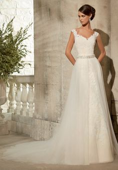 ML Accessories - 11076 - All Dressed Up, Bridal Overskirt