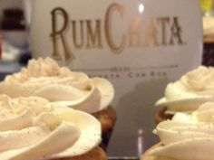Rumchata Frosting *Used on Snickerdoodle Cookies; Great buttercream frosting recipe; added all 4T of Rumchata