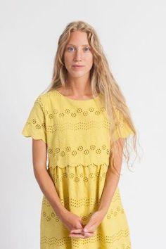 Corrina Dress Mustard