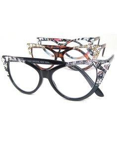 28b47a774a8 GORGEOUS new Jimmy Crystal brand cat eye reading glasses. Oh. My. GOSH.   JimmyCrystal  fashionOver40  fashionOver50  designerReadingGlasses ...