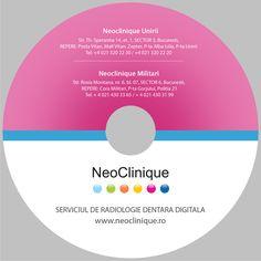 CD de prezentare pentru Clinica Neoclinique