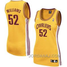http://www.jordanaj.com/mo-williams-cleveland-cavaliers-52-women-gold-jersey.html MO WILLIAMS CLEVELAND CAVALIERS #52 WOMEN GOLD JERSEY Only $71.00 , Free Shipping!