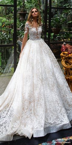 Milla Nova Wedding Dresses 2018 Anastasia1 #weddings #weddingideas #dresses #bride ❤️ http://www.deerpearlflowers.com/milla-nova-wedding-dresses-2018/