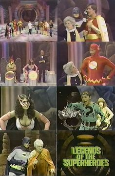 """Legends of the Superheroes (1979) - Looking back on this it was super cheesey and super bad - LOL.  BUT at that time us comic book geeks were starving for """"live-action"""" visits with our idols and the mega-movie franchises (Superman, Batman, X-Men, Spiderman, etc.) had not yet started so this was all we had to satisfy our cravings!!!"""