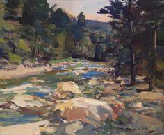Midsummer Stream, Charles Movalli