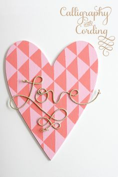 eighteen25: Mod Geometric Heart