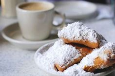 Classic Beignet Recipes - French Quarter Delight at Home Classic Beignet Recipes I love to make beignets at home with the classic Cafe du Monde beignet mix. In New Orleans, nothing goes better with cafe' au lait than Café Du Monde Beignets. New Orleans Vacation, New Orleans Travel, Beignets, Chocolates, Beignet Recipe, Brunch Buffet, Louisiana Recipes, Good Foods To Eat, Dessert