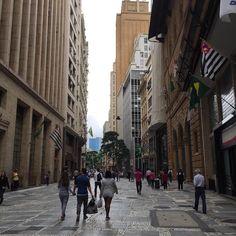 São Paulo, rua 15 de novembro.