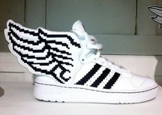 first rate 9db8c b701e ADIDAS ORIGINALS BY JEREMY SCOTT JS WINGS 2.0 PIXELS  sneaker Tennis  Sneakers, Adidas Shoes
